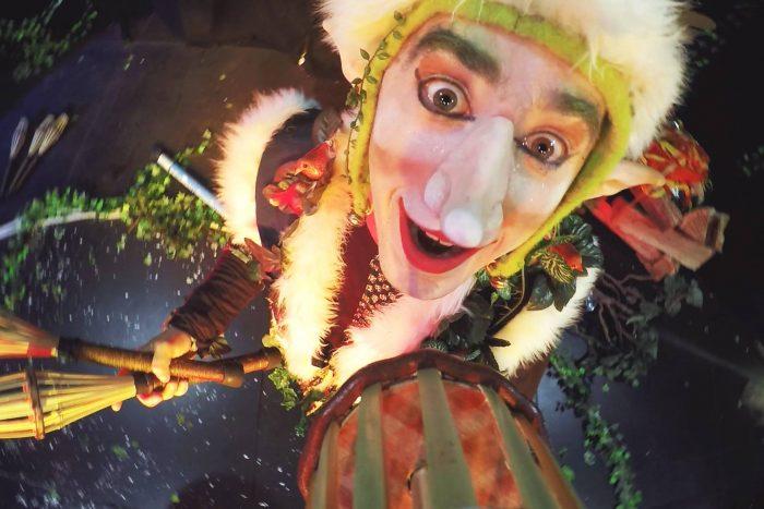 le rituel des Luperons jonglerie