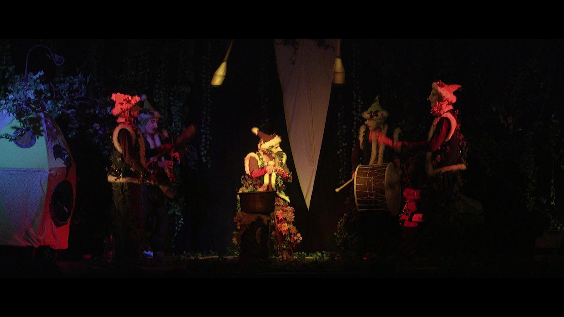 le rituel des Luperons jonglerie , spectacle jeune public